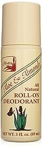 Alvera All Natural Roll-on Deodorant Aloe and Almonds - 3 Oz, 3 Fluid Ounce