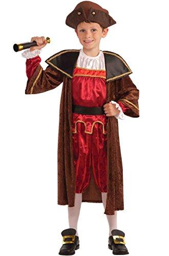Italian Explorer Christopher Columbus Child Costume (Kids Christopher Columbus Costumes)
