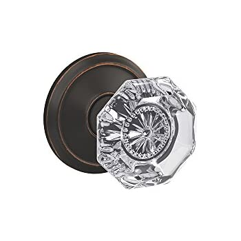 Schlage Custom Fc21 Alx 716 Ald Alexandria Glass Knob With