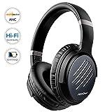 Mpow [2019 Upgrade] Noise Cancelling Headphones, Hi-Fi Sound Deep Bass Bluetooth Headphones Over