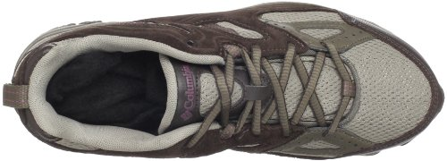 Columbia Wallawalla 2 Low Omni-Tech - Zapatillas deportivas para exterior de mezcla mujer marrón - Braun/moon rock/plum wine