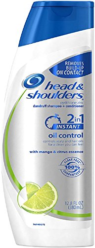 Head & Shoulders Instant Oil Control 2-in-1 Dandruff Shampoo + Conditioner 12.80 oz (Pack of 3)