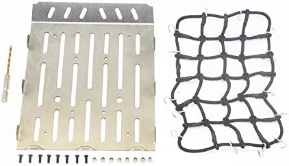 Stainless Steel Truck Trunk Lid (Style A) + Cargo Net For ...