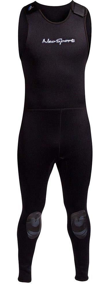 NeoSport Wetsuits Men's Premium Neoprene 7mm John,Black,X-Small by Neo-Sport