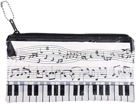 xiuinserty - Estuche para lápices y bolígrafos (plástico), diseño de Piano: Amazon.es: Productos para mascotas
