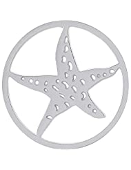 MS Koins Stainless Steel Coin Starfish Fits Our Coin Locket System, 30mm Diameter