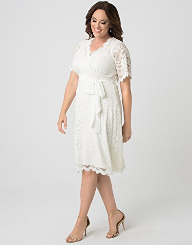 Kiyonna Women's Plus Size Graced with Love Wedding Dress