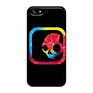RSjfoDF14206qyzLK Snap On Case Cover Skin For Iphone 5/5s(skull Candy)