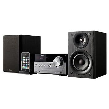 Sony CMTMX500I - Microcadena Hi-Fi (con base para iPod, 60 W RMS