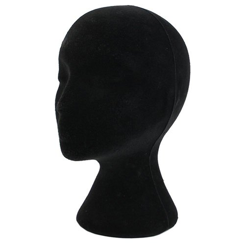 Bluelans Styrofoam Mannequin Head Female Styrofoam Wig Head