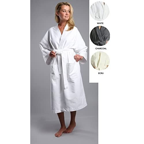 Chamois Microfiber Unisex Kimono Robe