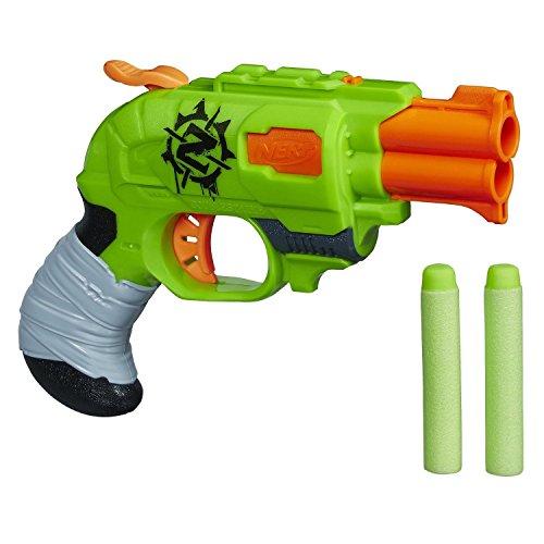 Nerf Zombie Strike Doublestrike Blaster New