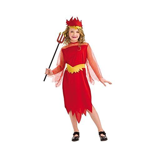 disfraz diablilla talla S (3 a 4 años): Amazon.es: Juguetes y juegos