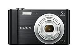 Sony Dscw800b 20.1 Mp Digital Camera (Black)