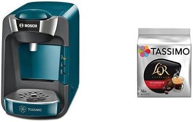 Bosch TAS3205 Tassimo Suny (azul pacífico) + Pack café 5 paquetes ...