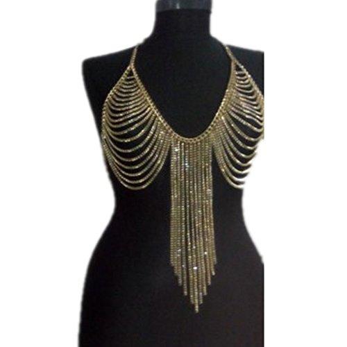 Meiysh Fashion Golden Necklace Jewelry