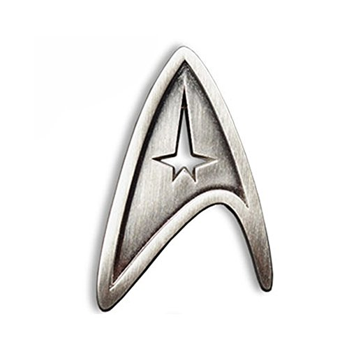 Star Trek Cosplay Brooch Starfleet Division Metal Badge Replica  (Command)