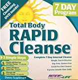 Total Body Rapid Cleanse 7- Day (3-part kit) - Renew Life - 1 - Kit