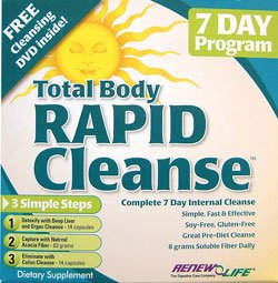 Total rapide Body Cleanse 7- Jour (kit en 3 parties) - Renew Life - 1 - Kit