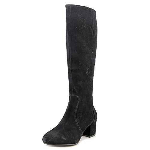 Steve Madden Womens Haydun Suede Closed Toe Knee High, Black Suede, Size (Steve Madden Knee High Boots)