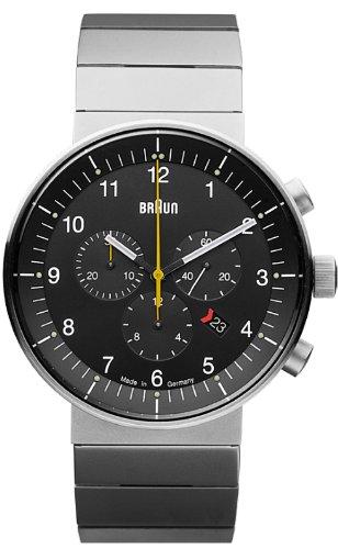 Braun BN0095 - Reloj (Reloj de Pulsera, Acero Inoxidable, Acero Inoxidable, Acero