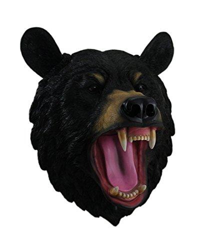 Bears Bear Head - DWK Wildlife Fake Taxidermy Wall Mount (Roaring Black Bear)