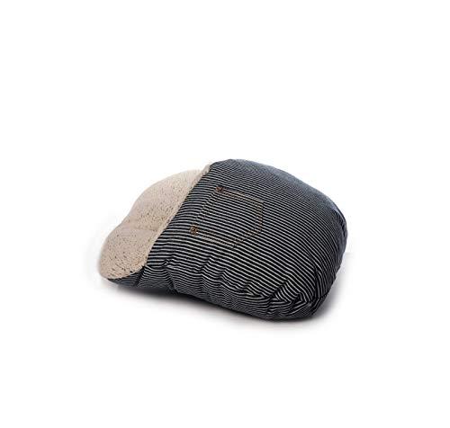 Inware 8668 – Voetwarmer, jeans/strepen, van pluche
