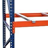 Storage-Pro Pallet Rack Starter Unit with Wire