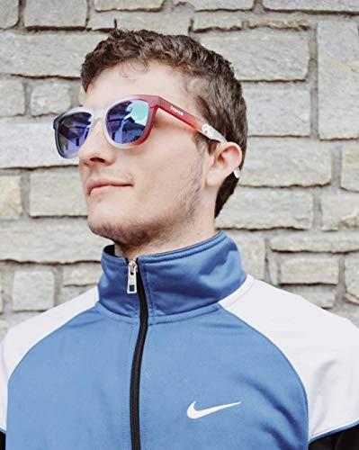 Gafas Protección sol Francia 100 2018 Moda Hombre Goma de Para Mujer UV Polarizadas 44UHOxqr