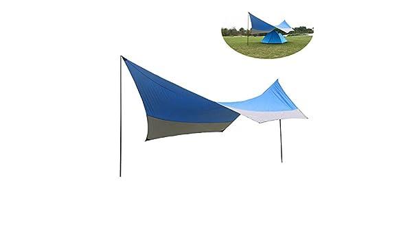 IMON LL Jardín Canopy Outdoor Camping Pergola Adecuado para Camping Garden Beach Protector Solar Sunshade Plata Carpa,1: Amazon.es: Deportes y aire libre