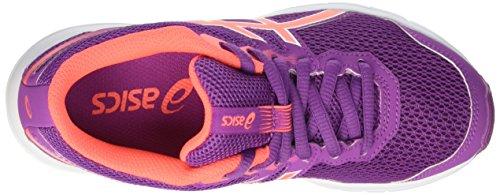 Asics Gel-Zaraca 5 Gs, Zapatillas de Running Unisex Niños Morado (Orchid/Flash Coral/White)