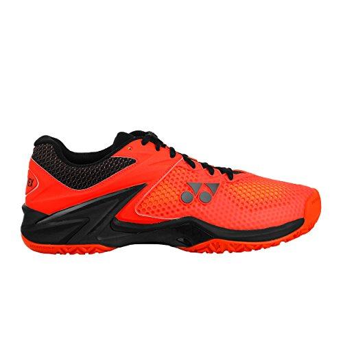 Power Tout Chaussures 45 Tennis Orange Noir 2 Eclipsion 5 Cushion Yonex De Hommes Chaussure Terrain 5qxwzORTSO