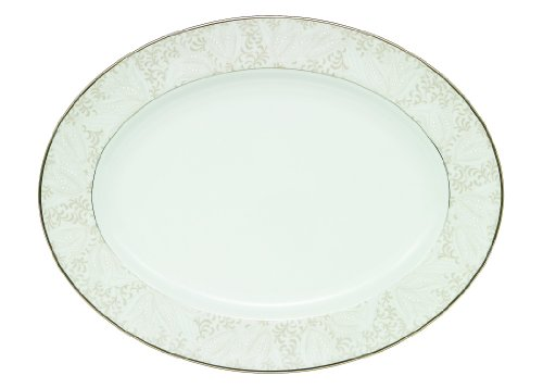 (Waterford Bassano Oval Platter, 15-1/4-Inch)