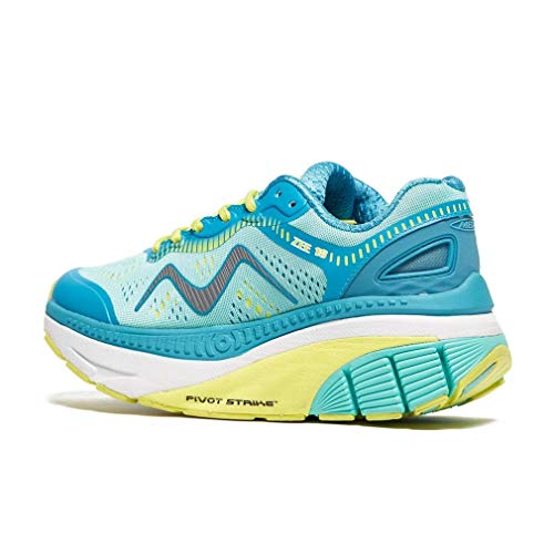 Green Women's Up Aqua MBT Lace Blue Flats Y4qx7fwO