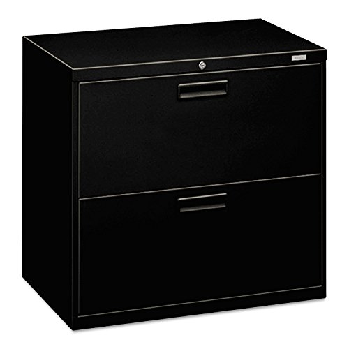 500 Series Five Drawer - HON 572LP 500 Series 30 by 28-3/8 by 19-1/4-Inch 2-Drawer Lateral File, Black