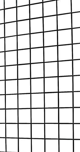 Black Grid Gondola Unit - Includes Base and Casters - Grid Unit 48''L x 66''H x 24''W by SSWBasics (Image #3)