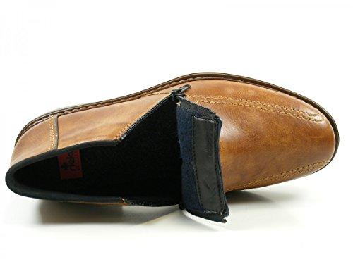 Rieker 17652-24 Botas de cuero para hombre Braun