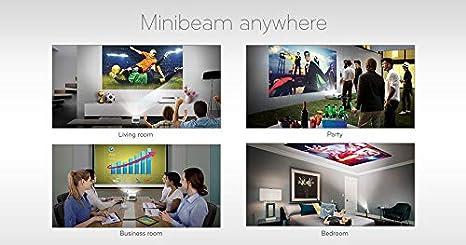 CineBeam Full HD LED Projektor 1000 Lumen, Drahtlose Screen-Share-Funktion, webOS LG Beamer HF65LS Adagio 2.0 bis 254cm 100 Zoll wei/ß