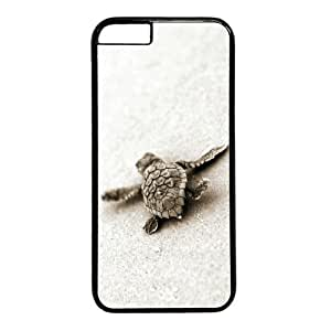 Turtle Theme Case for iphone 5c) PC Material Black