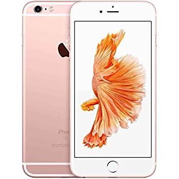 Apple iPhone 6S 16 GB Factory Unlocked, Rose Gold (Certified Refurbished)