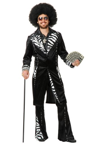 Plus Size Mac Daddy Pimp Costume - 3X