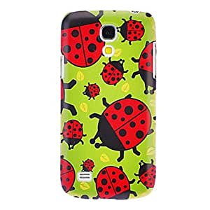 Cartoon Ladybug Pattern Hard Case for Samsung Galaxy S4 mini I9190