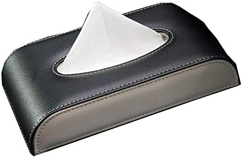 MUCHENXI-BZ Pañuelo de la Caja del pañuelo de la Cara Pañuelo de la Caja Titular para el baño Oficina en el hogar Control Remoto para el automóvil Pañuelo de la Bolsa Kleenex
