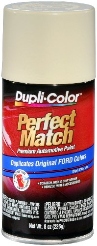 Dupli-Color EBFM00417 Wimbledon White Ford Perfect Match Automotive Paint - 8 oz. Aerosol by Dupli-Color