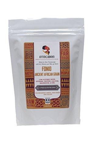 UPC 736211545947, Atacora - Fair Trade Raw Fonio Low Glycemic Index Ancient African Grain (Gluten-Free) - 16 Oz.