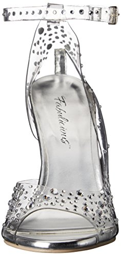 Fabulicious Women's Clearly 430rs Heels Sandals Transparent (Clr Lucite) 7f1mFpe