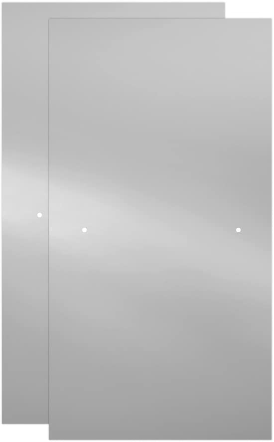 Nickel Track Delta Shower Doors SD3927438 Classic Semi-Frameless Contemporary Sliding Bathtub 60 x58-3//4