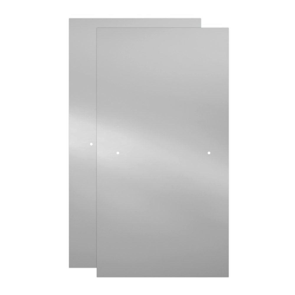 Delta Shower Doors SD3276592 Windemere 60'' Semi-Frameless Traditional Sliding Bathtub Door in Chrome with Clear Glass by DELTA FAUCET (Image #6)