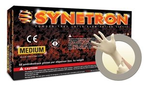 Microflex Synetron Latex Powder Free Medical Grade Exam Gloves (500 Case)