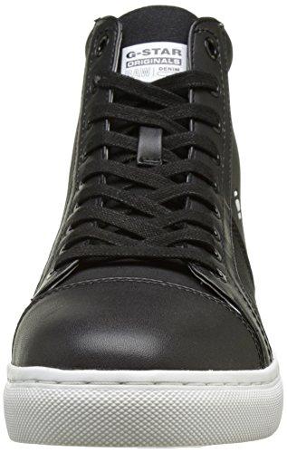 G-star Raw Mens Toublo Mid Fashion Sneaker Zwart